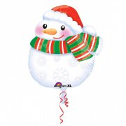 Ballon à Plat Bonhomme de Noël