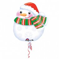 Ballon Hélium Bonhomme de Noël