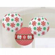 Lanternes de Noël Boules en Papier