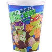 Contient : 1 x 8 Gobelets Tortues Ninja - Half-Shell Heroes