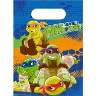 8 Pochettes Cadeaux Tortues Ninja - Half-Shell Heroes