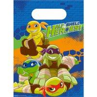 Contient : 1 x 8 Pochettes Cadeaux Tortues Ninja - Half-Shell Heroes