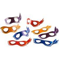 Contient : 1 x 8 Masques Ninja - Half-Shell Heroes