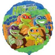 Ballon à Plat Tortues Ninja - Half-Shell Heroes (43 cm)