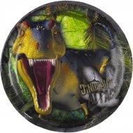 8 Petites Assiettes Dinosaures Attack