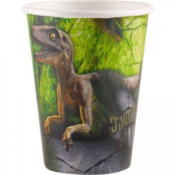 8 Gobelets Dinosaures Attack