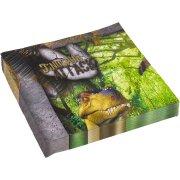 20 Serviettes Dinosaures Attack