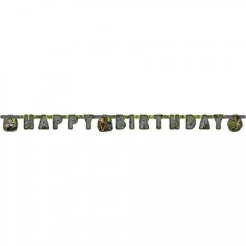 Guirlande Happy Birthday Dinosaures Attack
