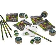 Set 20 cadeaux papeterie Dinosaure Attack
