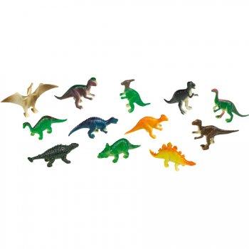 8 Minis Figurines Dinosaures (6 cm) - Plastique