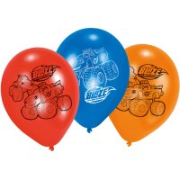 Contient : 1 x 6 Ballons Blaze