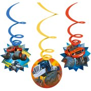6 Guirlandes Spirales Blaze (80 cm)