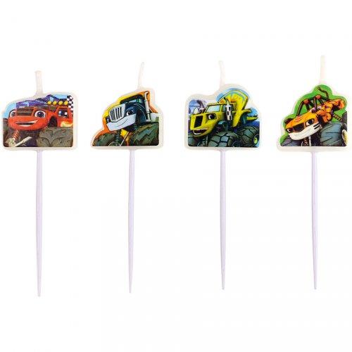 4 Mini Bougies Blaze