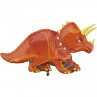 Ballon Géant Dinosaure Triceratops (106 cm)