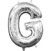 Ballon Lettre G Argent (33 cm)