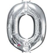 Ballon Lettre O Argent (33 cm)