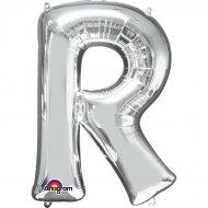 Ballon Lettre R Argent (33 cm)