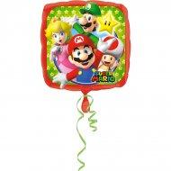 Ballon Hélium Mario et Luigi (43 cm)