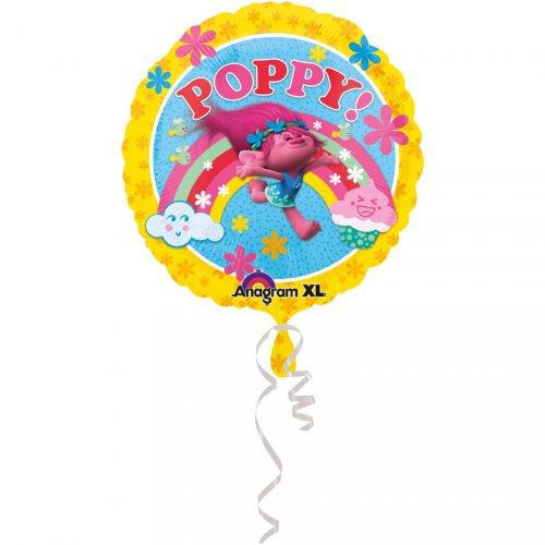 Ballon Gonflé à l Hélium Trolls Poppy