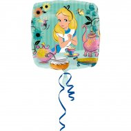 Ballon Alice Disney à Plat (43 cm)