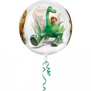 Ballon Orbz Crystal Le voyage d Arlo Hélium (40 cm)