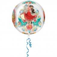 Ballon Orbz Crystal Elena d'Avalor Hélium (40 cm)