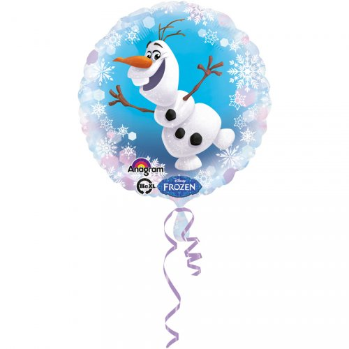 Ballon Gonflé à l Hélium Olaf (43 cm)