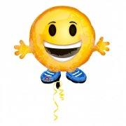 Ballon Emoticone Smiley Hélium (53 cm)