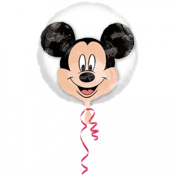 Double Ballon Mickey à Plat (60 cm)