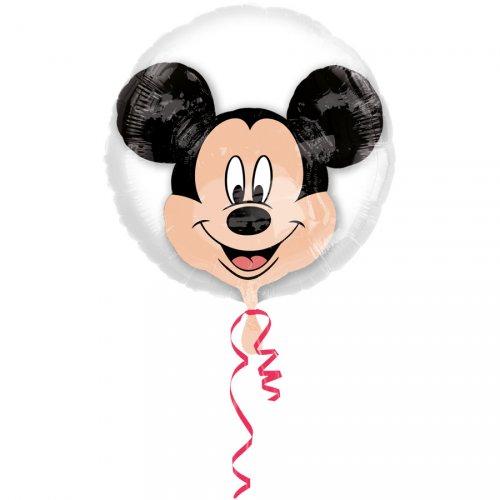 Double Ballon Mickey à Plat (60 cm)