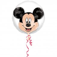 Double Ballon Mickey Hélium (60 cm)