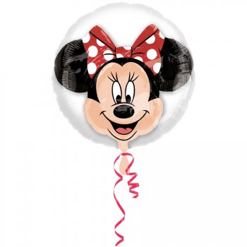 Double Ballon Minnie à Plat (60 cm)