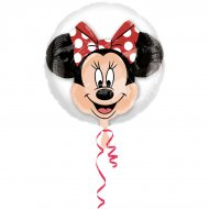 Double Ballon Minnie Hélium (60 cm)