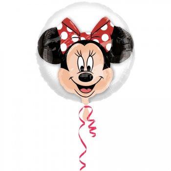 Double Ballon Minnie Hélium (60 cm)