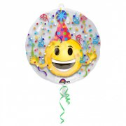 Double Ballon Emoji Party Hélium (60 cm)