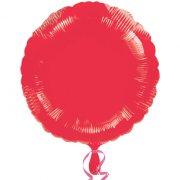 Ballon Disque Rouge Métal (43 cm)