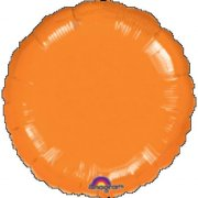 Ballon Disque Orange Métal (43 cm)