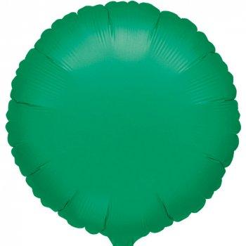 Ballon Disque Vert Métal (43 cm)