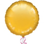 Ballon Disque Or Métal (43 cm)