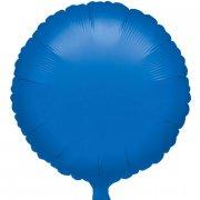 Ballon Disque Bleu Métal (43 cm)