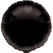 Ballon Disque Noir Métal (43 cm)