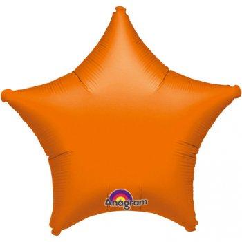 Ballon Etoile Orange Métal (48 cm)