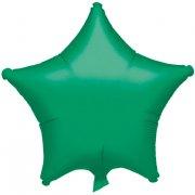 Ballon Etoile Vert Métallisé (48 cm)