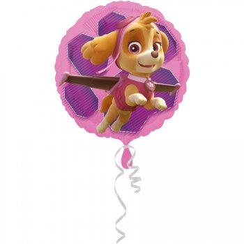 Ballon Hélium Stella et Everest Pat Patrouille