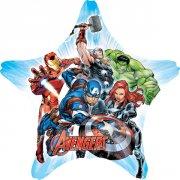 Ballon Géant Etoile Avengers (81 cm)