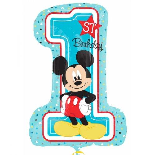 Ballon Géant Mickey 1an (71 cm)