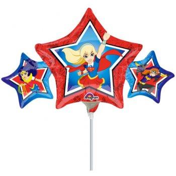 Ballon sur Tige DC Super Héro Girls
