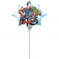 Ballon sur Tige Etoile Avengers