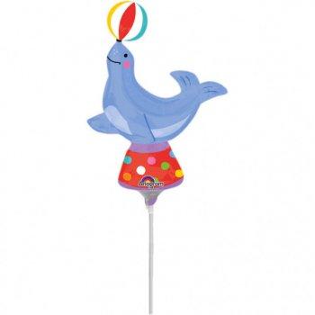 Ballon sur Tige Otarie de Cirque