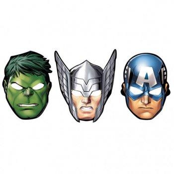 8 Masques Avengers Trio Nez Pop Up